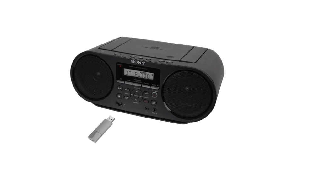 Sony Portable Megabass Stereo Boombox Sound System Review
