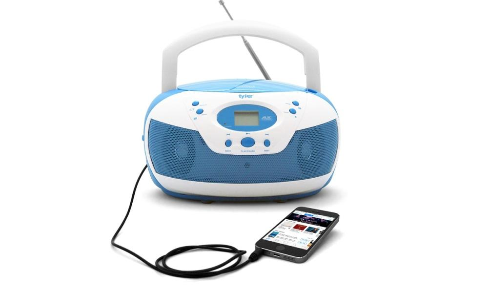 Tyler Portable CD Player with AM FM Radio Review