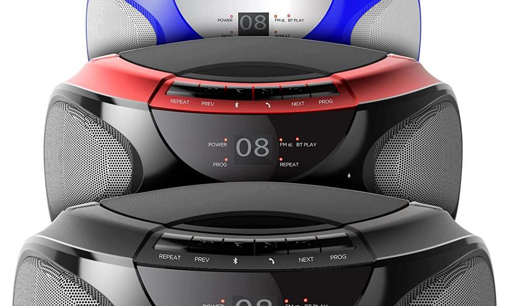 Ematic EBB9224RD CD Bluetooth Boombox Review