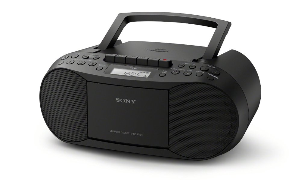 Sony CFDS70BLK Boombox Home Audio Review