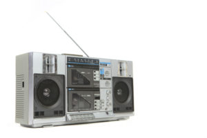 Boombox with External Antenna Jack: A Wider Reception